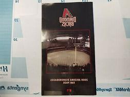 Arizona Diamondbacks MLB 2009 Fan Pack Booklet