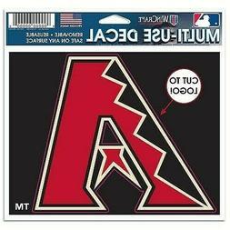 Arizona Diamondbacks MLB Cut To Logo Multi-Use Decal  / Stic