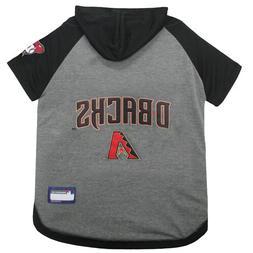 Arizona Diamondbacks MLB Sporty Dog Pet Hoodie T-Shirt Sizes