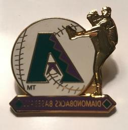 Arizona Diamondbacks Old Logo Purple White Baseball Hat Pins