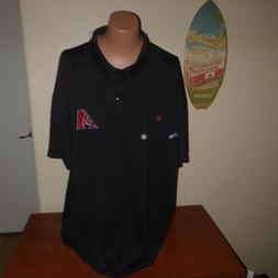 ARIZONA DIAMONDBACKS Polo Shirt by Majestic - Dbacks logo em