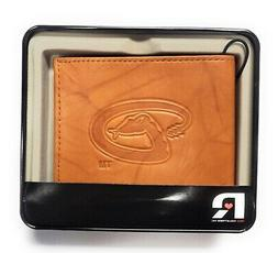 Arizona Diamondbacks Retro Logo Wallet Premium Leather Billf