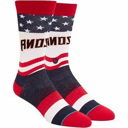 Arizona Diamondbacks Stance Stars and Bars Crew Socks