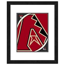 Photo File Arizona Diamondbacks Team Logo Framed Print Pictu