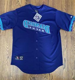 Arizona Diamondbacks Throwback Majestic Jersey Brand New Wit
