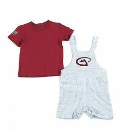 arizona diamondbacks toddler coveralls 2 piece clothing