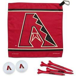 Arizona Diamondbacks WinCraft Towel, Golf Balls & Tees Gift