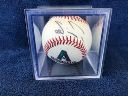Arizona Diamondbacks Travis Lee Signed Autographed Baseball