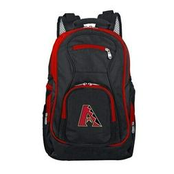 Arizona Diamondbacks Trim Color Laptop Backpack - Black
