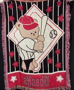 Arizona Diamondbacks Triple Woven Blanket Throw Little Fan M