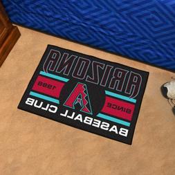 "Arizona Diamondbacks Uniform Inspired 19"" X 30"" Starter Area"
