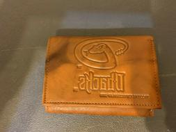 Arizona Diamondbacks Wallet Brown Leather New
