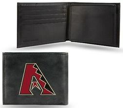 Arizona Diamondbacks Wallet Premium Black Leather Billfold E
