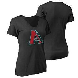 Arizona Diamondbacks Women's Plus Sizes Primary Team Logo T-