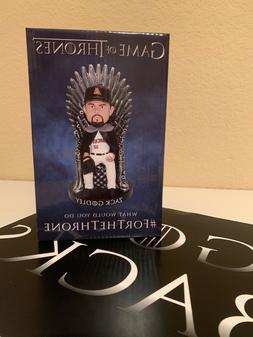 Arizona Diamondbacks Zack Godley Game of Thrones SGA Bobble