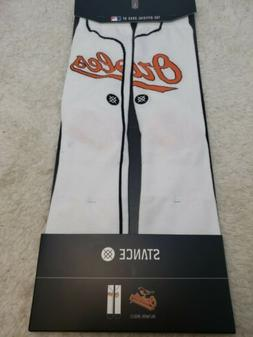Baltimore Orioles Stance Home Jersey Crew Socks large 9-12