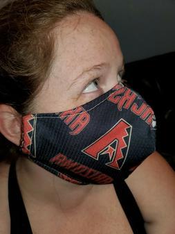 Homemade Fabric Reusable Face Mask washable Arizona Diamondb