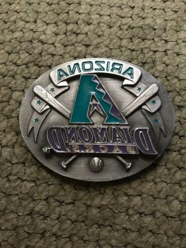1995 arizona diamondbacks inaugural season pewter belt