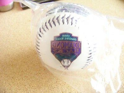 1998 Rockies Game baseball ball