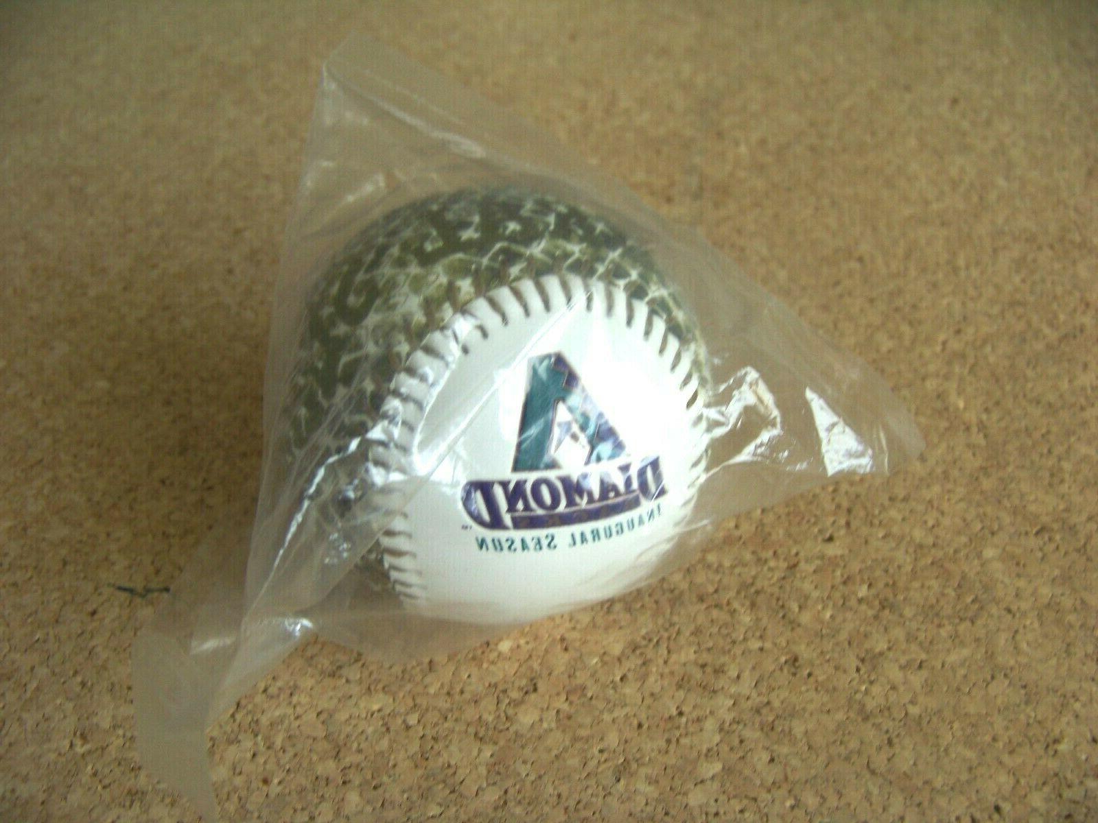 1998 Inaugural Season Diamondbacks ball design