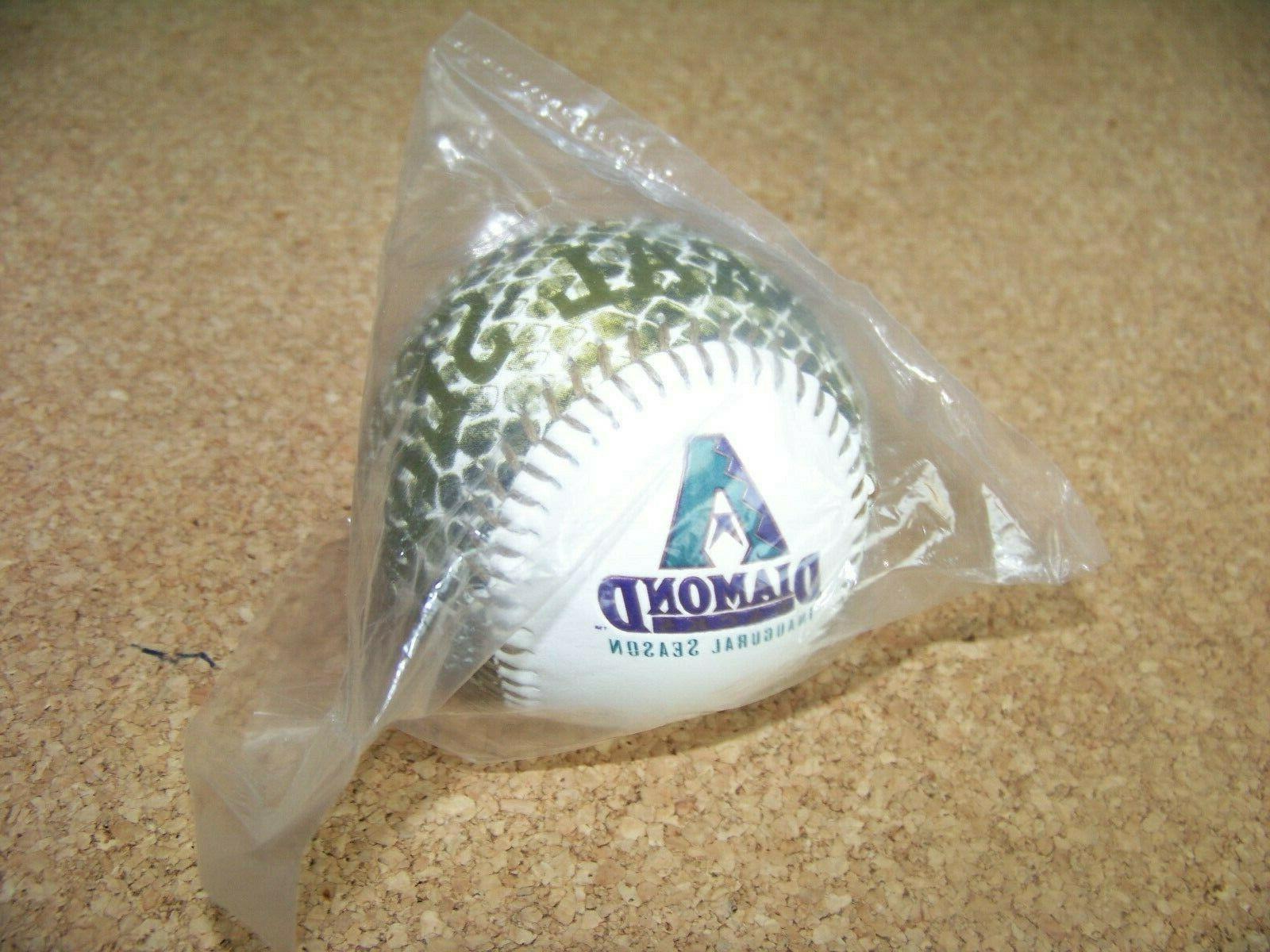 1998 inaugural season arizona diamondbacks baseball ball
