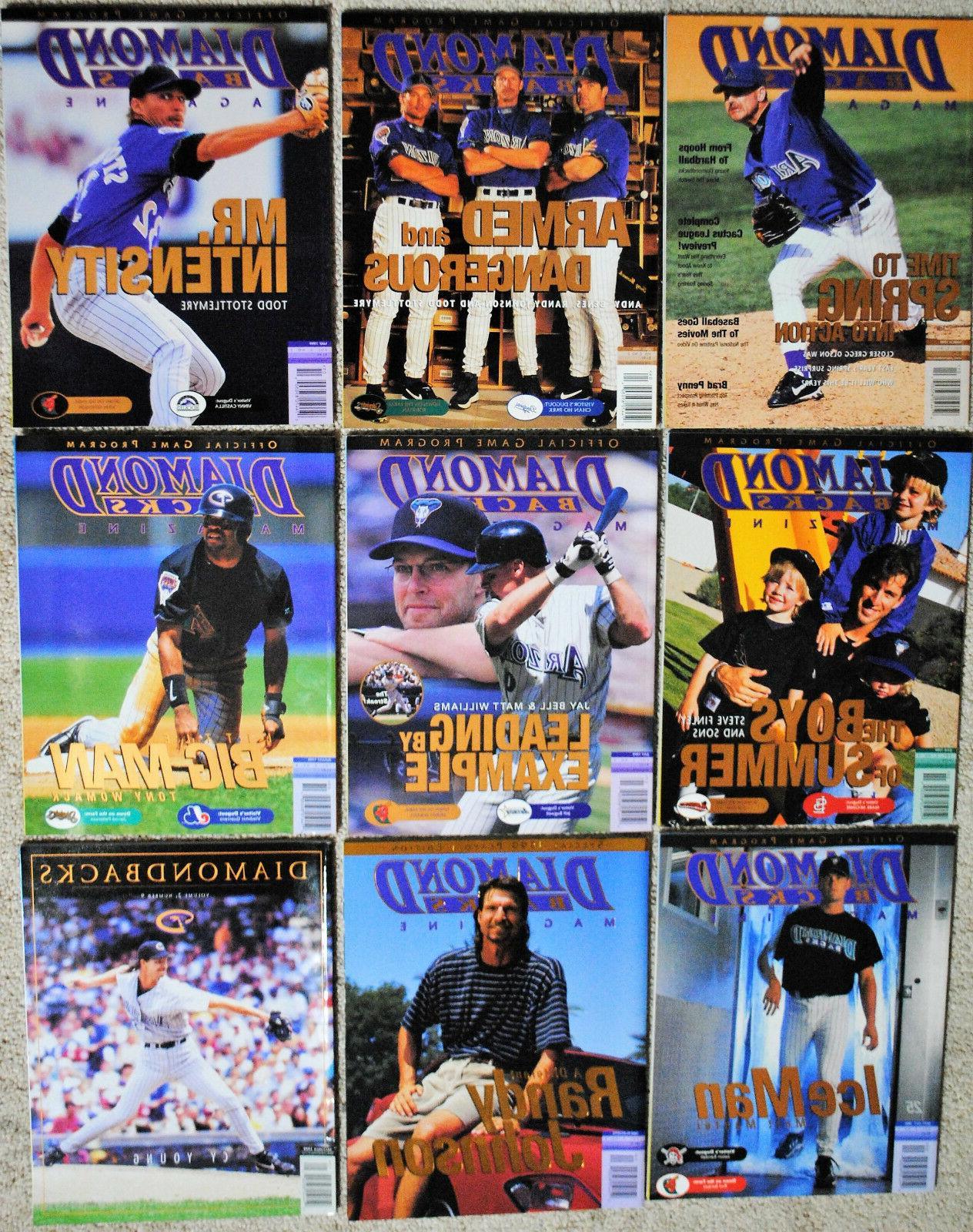 1999 arizona diamondbacks magazine dbacks mlb baseball