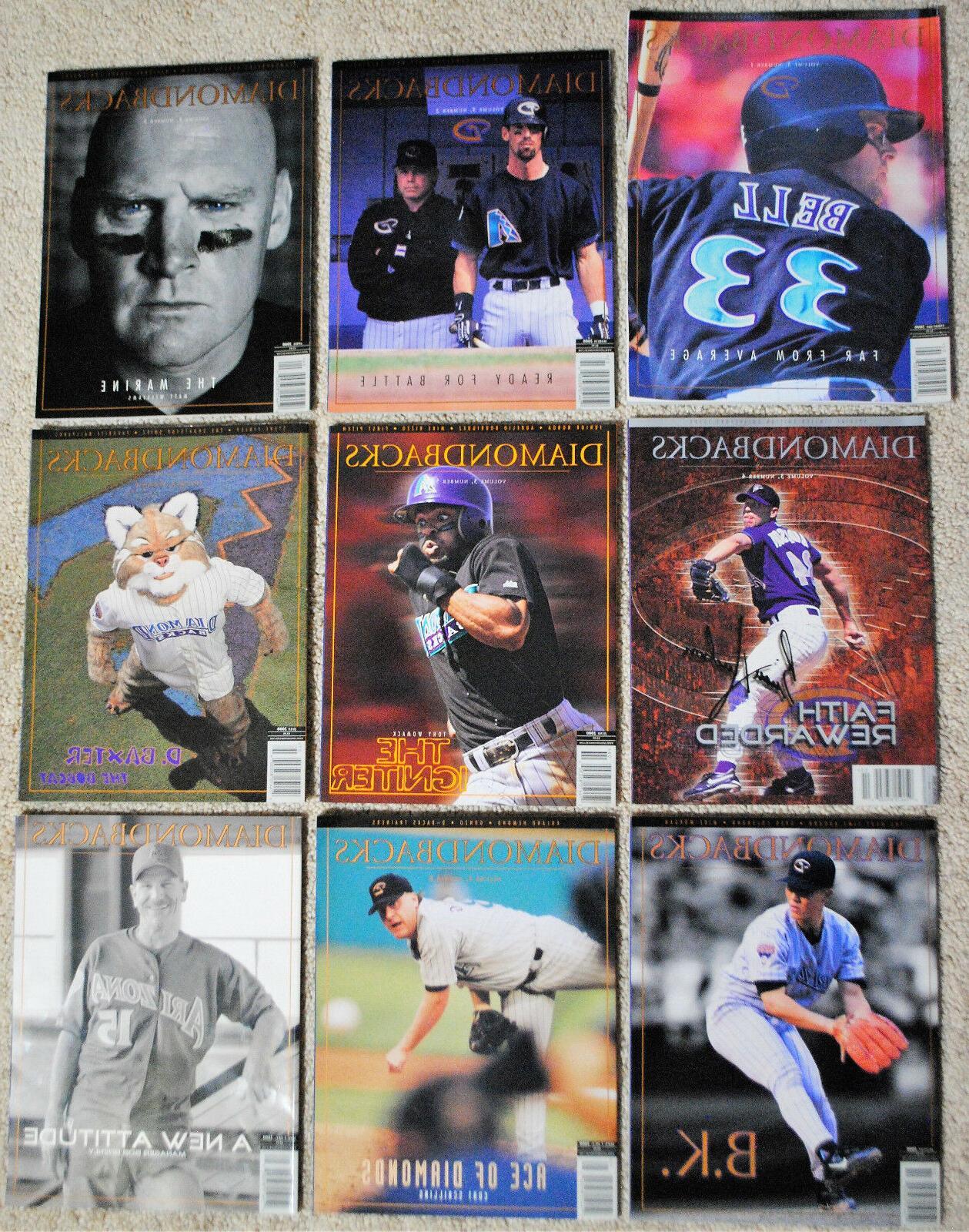 2000 arizona diamondbacks magazine dbacks mlb baseball
