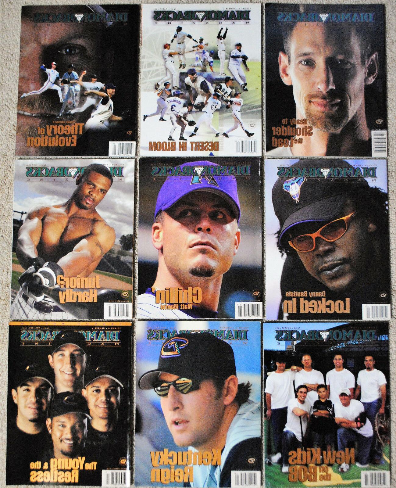 2003 arizona diamondbacks magazine dbacks mlb baseball