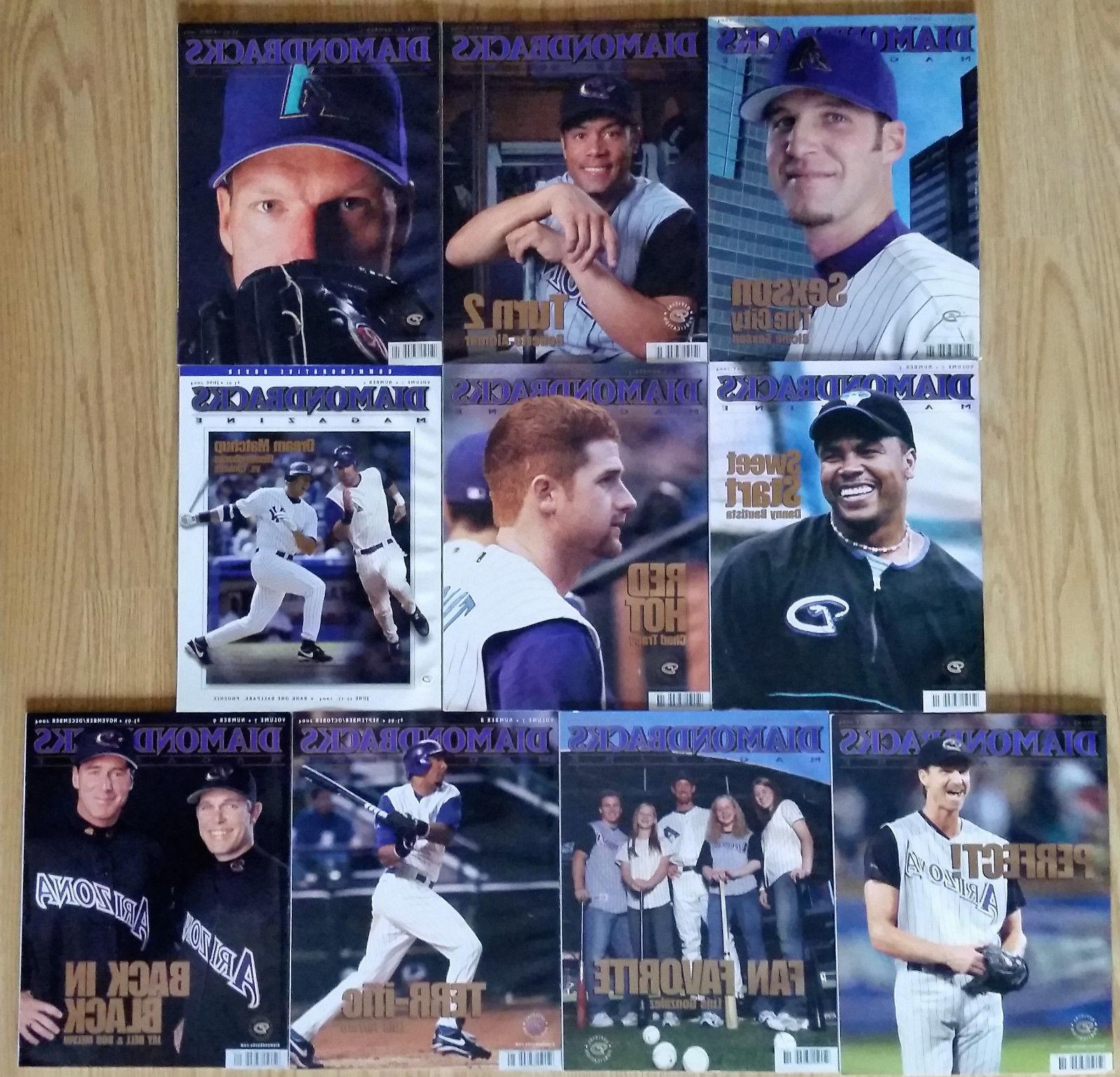 2004 arizona diamondbacks magazine dbacks mlb baseball