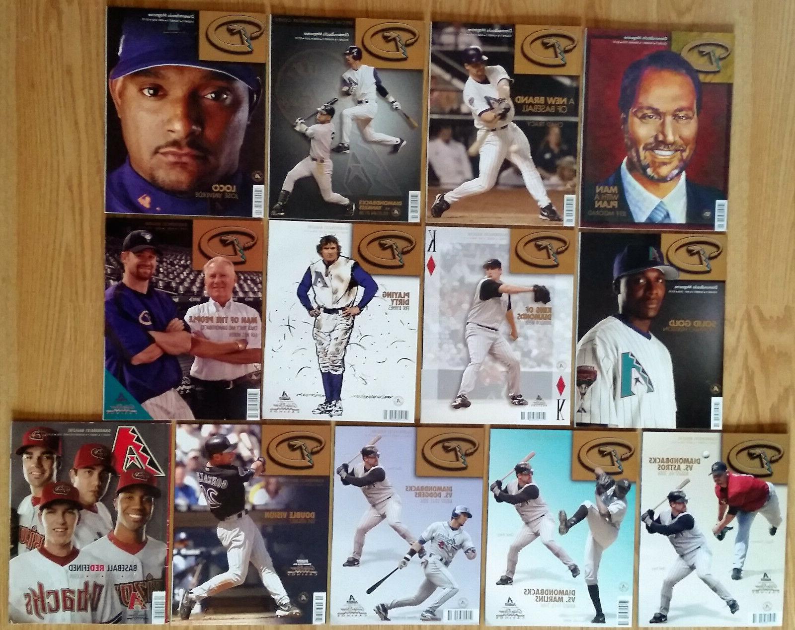 2006 arizona diamondbacks magazine dbacks mlb baseball