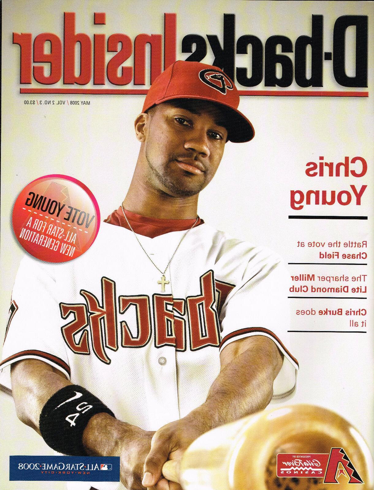 2008 Arizona Insider Magazine Dbacks -