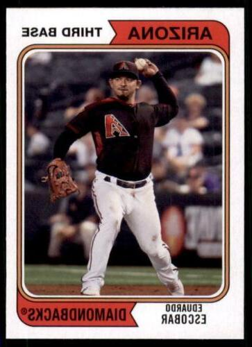 2020 base 137 eduardo escobar arizona diamondbacks