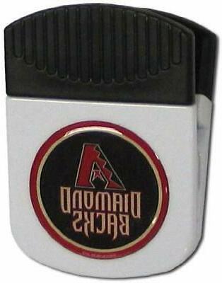 arizona diamondbacks 2 chip paper clip magnet