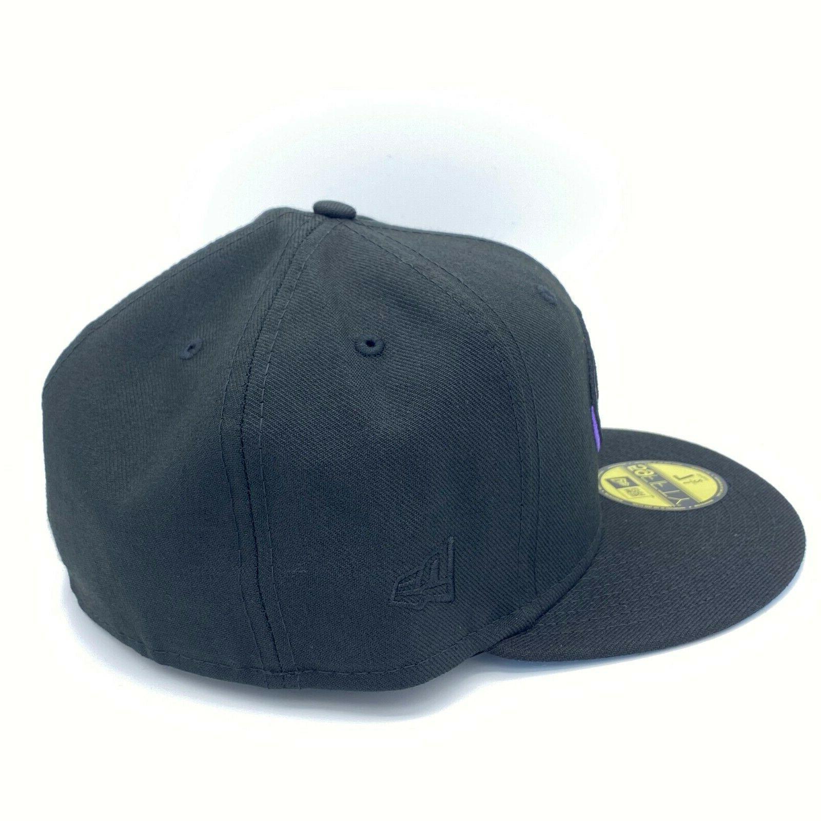 Arizona Diamondbacks Series Black Fitted Hat Bottom