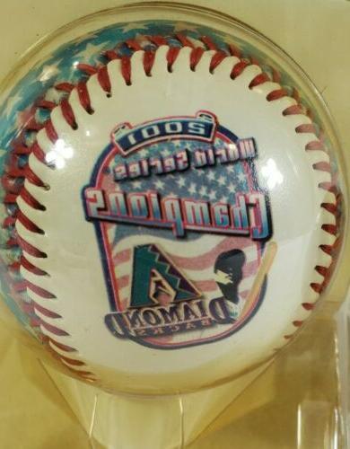 Arizona Diamondbacks 2001 Series Special Baseball Lot