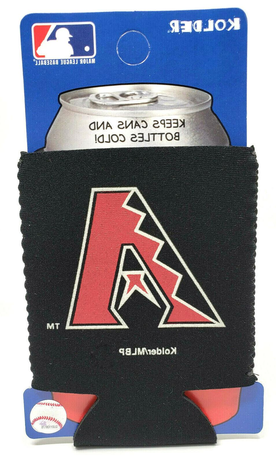 arizona diamondbacks can cooler collapsible bottle holder