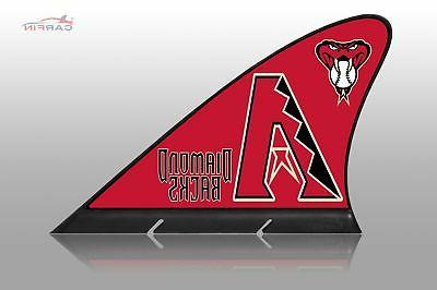 arizona diamondbacks car flag magnetic car flag