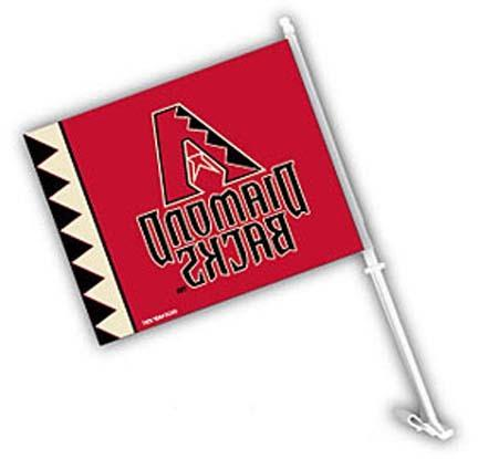 arizona diamondbacks car flags