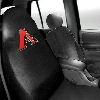arizona diamondbacks car seat cover black