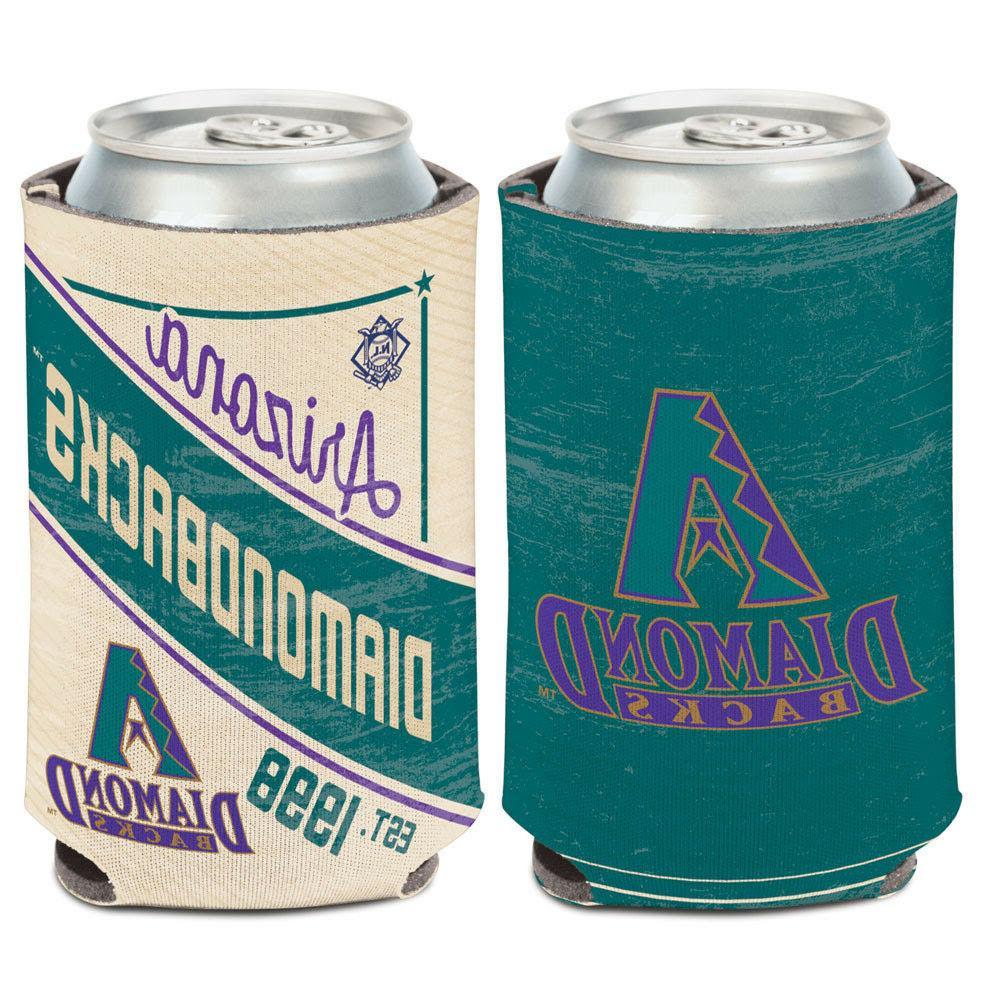 arizona diamondbacks cooperstown can cooler 12 oz