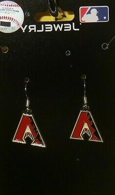 Arizona Diamondbacks Dangle Earrings  MLB Licensed Baseball