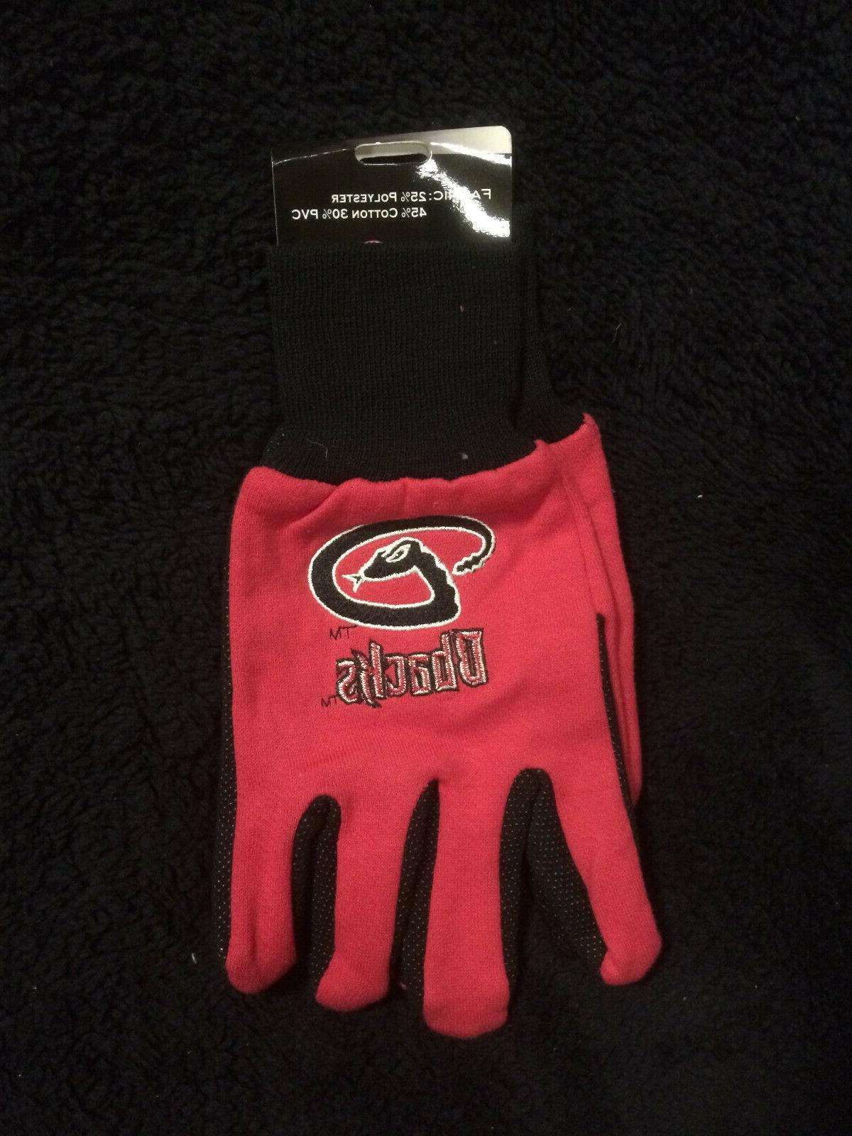 arizona diamondbacks dbacks diamond utility gloves tufted