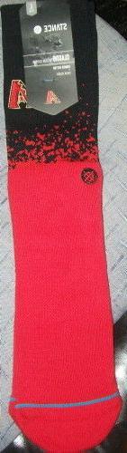 Stance Arizona Diamondbacks Dbacks Fade Men's Crew Socks ~ S