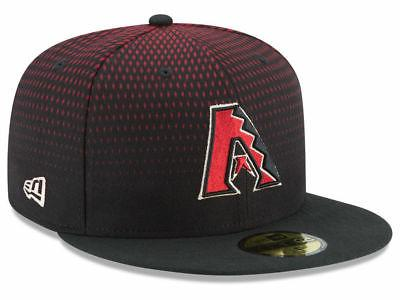 arizona diamondbacks game 59fifty fitted hat black