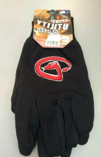 arizona diamondbacks gloves utility work sports mlb