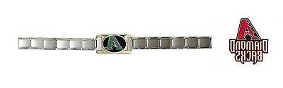 arizona diamondbacks italian charm bracelet new 17