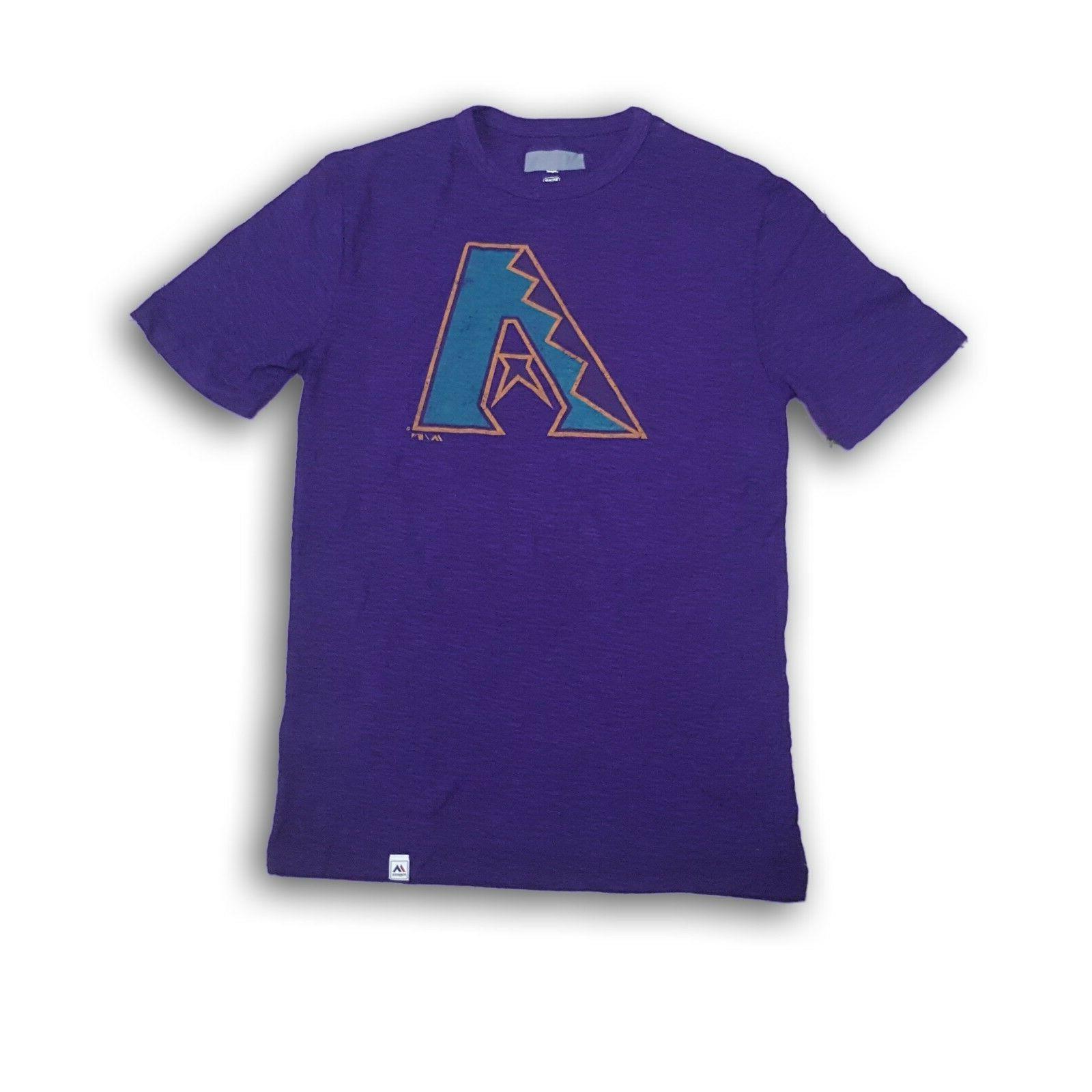 arizona diamondbacks men s purple t shirt