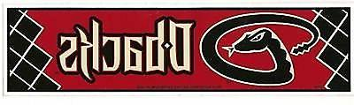 arizona diamondbacks mlb licensed bumper sticker new