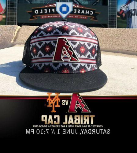 arizona diamondbacks native tribal cap hat sga