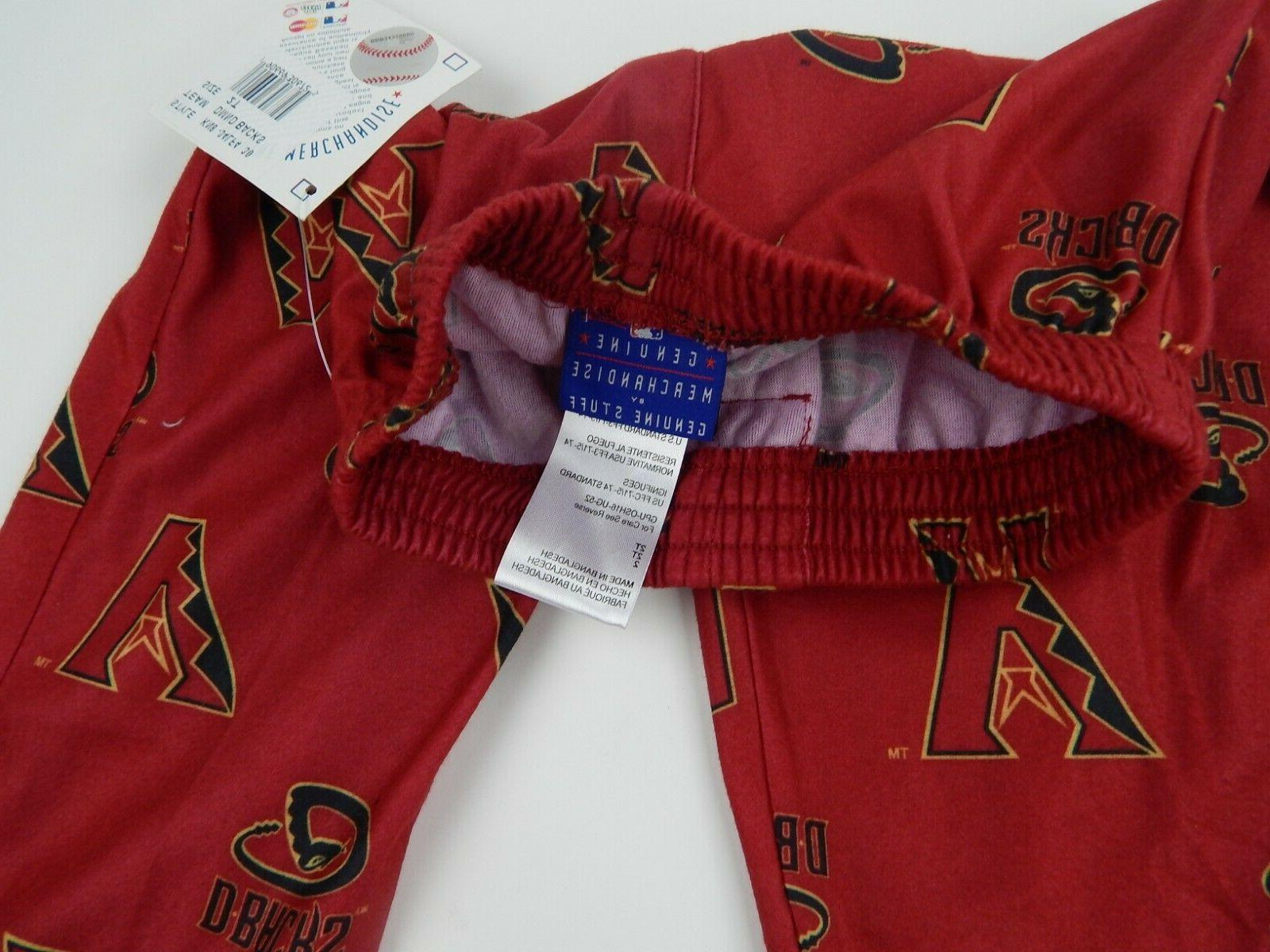 Arizona Pants Toddler Girls Sleep Red